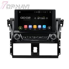 """WANUSUAL 8"""" Quad Core Android 5.1 Car GPS Navigation for Toyota Yaris 2014 Car DVD Multimedia Audio Radio Stereo In Dash"""