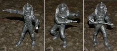 """Cool Collection of Vintage Toy """"Space Man"""" Figures - Retro Marx Action Figures from 1960's? - Lot of 6 Action Figures - Excellent Condition"""