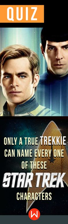 """""""To Boldly Go Where No Man Has Gone Before..."""" Star Trek Trivia quiz. Do you know everything about Star Trek? Prove you are a REAL Trekkie by answering all of these Star Trek trivia questions right. Captain James is counting on you! T. Kirk, Spock, Uhura, Hikary Sulu... Go Boldly or go home!"""