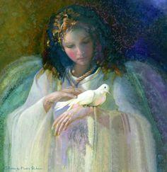 Мобильный LiveInternet Только тот, кто дружит с чудесами,может в небе ангелов увидеть...   Nancy Noel   mazita - Дневник mazita  