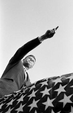 JFK campaigning in West Virginia, 1960.