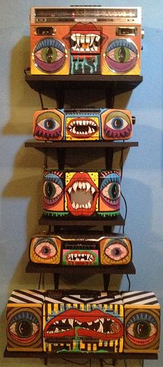 ♬Wicked Doombox Totem @ Reversible Eye by MaC BLacKOuT..., via Flickr  ~ for some SicK Tunes! ♬♪♩
