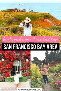 How to Spend a Romantic Weekend from San Francisco Bay Area. These are the 10 most romantic weekend getaways from San Francisco Bay Area that you can visit with your partner. The list includes best hotels with spectacular views, great restaurants to dine in and fun things to do at each place. Romantic Things to do for couples in San Francisco | Weekend Getaways for Couples in San Francisco | San Francisco Couples Travel