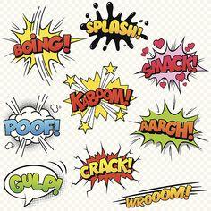 Comic Sound Effects stock vector. Illustration of cartoon - .- Comic Sound Effects stock vector. Illustration of cartoon – 37618771 Comic Sound Effects Image – Image: 37618771 - Comic Art, Comic Books, Comic Sound Effects, Arte Pop, Image Comics, Superhero Party, Art Plastique, Clipart, Art Lessons