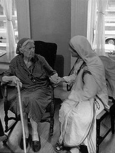 Dorothy Day and Blessed Mother Teresa of Calcutta, two humanitarians and advocates for social justice.