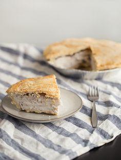 Buko Pie (Filipino Coconut Pie) II - Obsessive Cooking Disorder Buko Pie, Pie Tin, Filipino Desserts, My Dessert, Cream And Sugar, Us Foods, Pie Recipes, Food Photo, Coconut