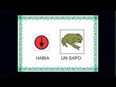 """""""HABIA UN SAPO"""" - Canción con pictogramas de Arasaac"""