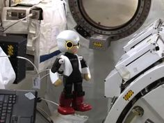 It can get lonely in space, even for a robot. Kirobo, the Japanese humanoid robot who is modeled after Astro Boy, was developed to entertain astronauts in space.