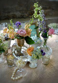 Vintage Wedding Style for a Romantic Garden Reception | Cedarwood Weddings