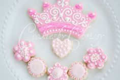 Birthday Princess Cookies