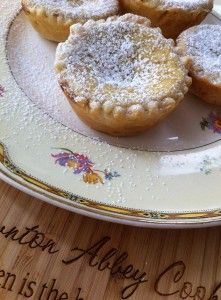 Manchester Pudding, a Victorian treat From Downton Abbey Cooks in About the Show, Afternoon Tea, Season 3 Victorian Recipes, Vintage Recipes, Mary Berry, Cupcakes, Manchester Tart, Tea Recipes, Dessert Recipes, Victorian Tea Party, Victorian Era