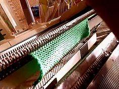Вязание края полотна изделия косичкой для каждого ряда, на любой машине.