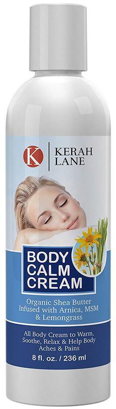 Body Calm Cream 8 Oz Organic Arnica