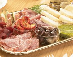 Starting with one of my favourites - antipasto...