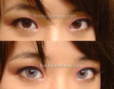 I sooo want these! From Head To Toe: Solotica Hidrocharme Ice Colored Contacts Solotica Lenses, Colored Eye Contacts, Blue Eyed Baby, Circle Lenses, Face Hair, Head To Toe, New Job, Eye Color, Dyed Hair
