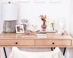 Small Space Home Office Solutions  #theeverygirl