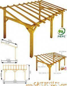Tin Roof Lean To Free Standing Google Search Woodworkingtools Carport Bois Plans De Pergola Idees De Patio