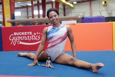 Gabby Douglas Added to Barbie 'Shero' Collection Us Olympic Gymnastics Team, Gk Gymnastics, Olympic Trials, Us Olympics, Simone Biles, Gabby Douglas, Barbie Collector, African American Women, Strike A Pose