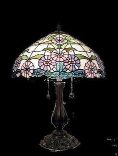 Tiffany style Stained glass Table Lamp QC163123
