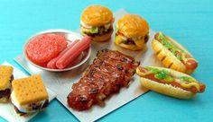 Dollhouse Miniature Foods for Summer BBQs