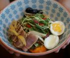 #Tunisian #Jewish #Israeli #salad. #food #delicious #ethnic #fish #egg #vegetable