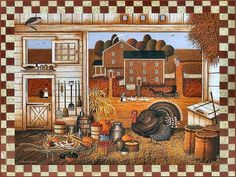 Turkey in the Straw by Charles Wysocki