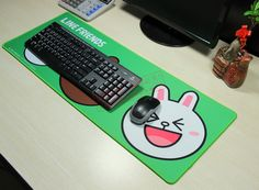 there is no pleasure without pain in the world. Wish all gain a lot when do it! The best-selling mouse pad in Korea
