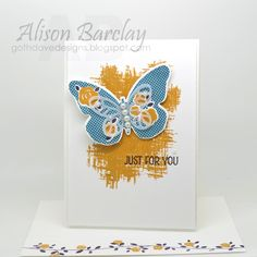Gothdove Designs - Alison Barclay - Stampin' Up! Australia - Stampin' Up! Floral Wings