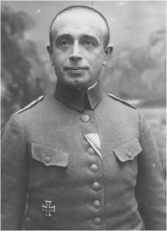 Hugo Gutmann (1880–1971) was a German-Jewish veteran of World War I who is famously known as Adolf Hitler's superior officer during the war, as well as the man responsible for recommending Hitler for the award of the Iron Cross (First Class) in 1918.