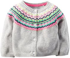 Carter's Baby Girls' Fairisle Cardiga…