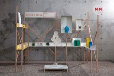 I LIKE - Installation / Build Process : Mobile Museum — Designspiration