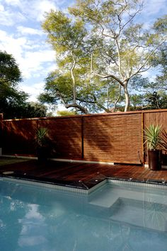 Natureed with timber and bamboo capping