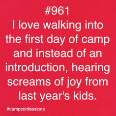 """Seeing """"My Girls"""" the 1st day of camp was THE BEST!  Hugs all around bigger & better than family! Camp Confessions"""