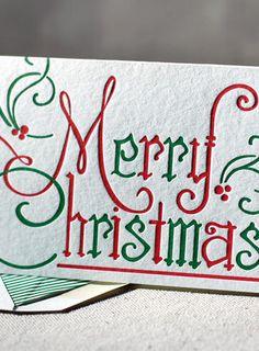 Letterpress Christmas via @jenniferleith