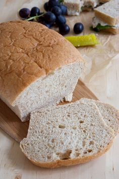 Kitchen Simplicity   soft honey-wheat sandwich bread.  Fabulous,  both dough and bread freeze well.  Makes 3 loaves.