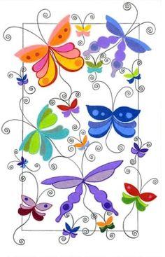 Em todas as formas e cores, sou encantamento e beleza. Somos borboletas.