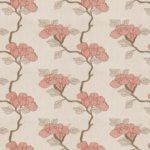 Fabricut<BR/> Asian Floral<BR/> Lacquer<BR/> Fabric