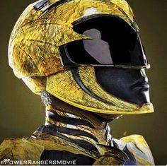 Becky G in Power Rangers Power Rangers Cosplay, Power Rangers 2017, Go Go Power Rangers, Rita Repulsa, Power Rangers Pictures, Power Ragers, Trini Kwan, Combat Suit, Black Panther Art