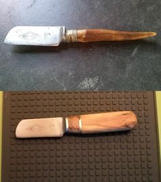 Refurbished small Sheeffield steel knife I got from a friend.