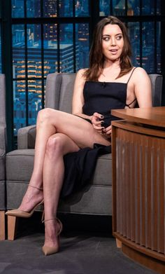 Aubrey Plaza is the most f**kable celeb. Let's discuss buds - Girl Celebrity