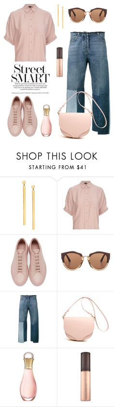 """Mmm."" by schenonek ❤ liked on Polyvore featuring Lana, Topshop, Common Projects, Marni, Valentino and Christian Dior"