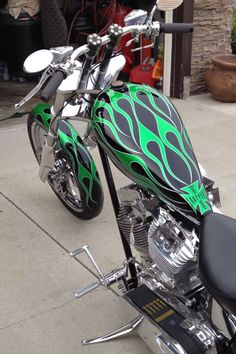 My hubby's West Coast Chopper Dragon Motorcycle