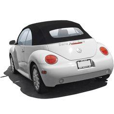 Volkswagen Beetle Convertible Top, 2003-2010 German A5 - Manual