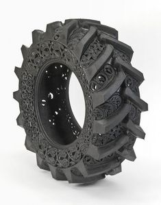 Art Carved into Tires