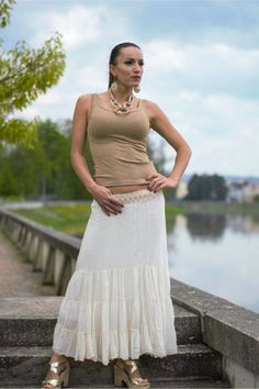 Trendy, Lace Skirt, Skirts, Fashion, Moda, Fashion Styles, Fashion Illustrations, Fashion Models, Gowns