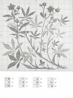 ru / Фото - Haandarbejdets Fremme - Dye Plants and Fruits in Cross Stitc - logopedd Filet Crochet, Cross Stitch Flowers, Black Rings, Pattern Books, Cross Stitch Designs, Needlepoint, Diy And Crafts, Tapestry, Embroidery