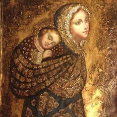 Divine Mother, Blessed Mother Mary, Blessed Virgin Mary, Religious Images, Religious Icons, Religious Art, La Madone, Images Of Mary, Mother Mary Images
