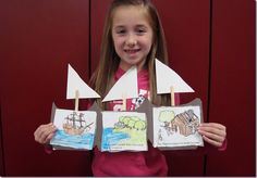 Great sequencing activity for Columbus Day or Pilgrims' voyage. 1st Grade Writing, Teaching First Grade, Sequencing Activities, Kindergarten Activities, Thanksgiving Activities, Thanksgiving Crafts, November Thanksgiving, Columbus Day, School Holidays