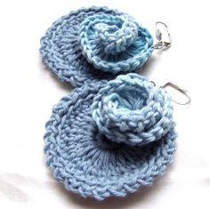 Crocheted earrings from HEraMade