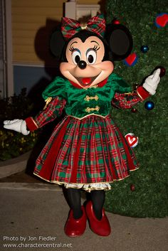 Christmas on Main Street USA - Minnie Mouse
